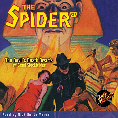 Spider #37 audiobook cover art