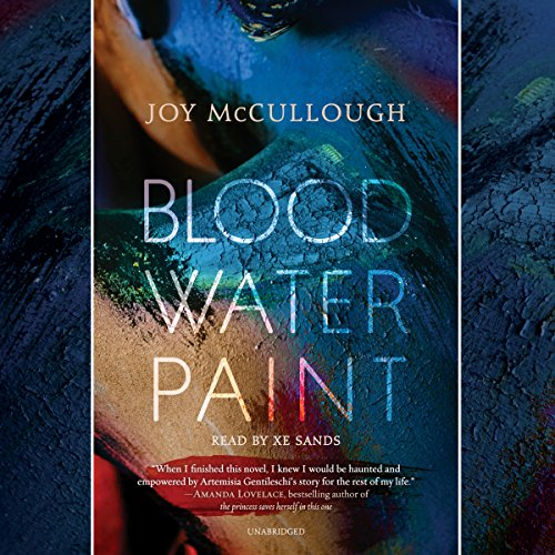 Blood Water Paint audiobook cover art