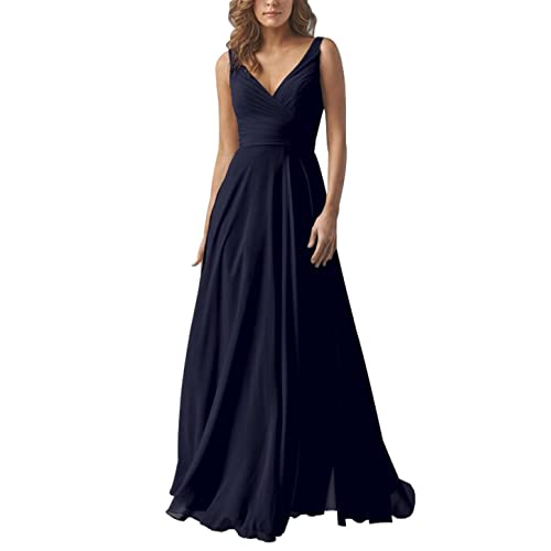 Long Navy Bridesmaid Dresses Amazon Com