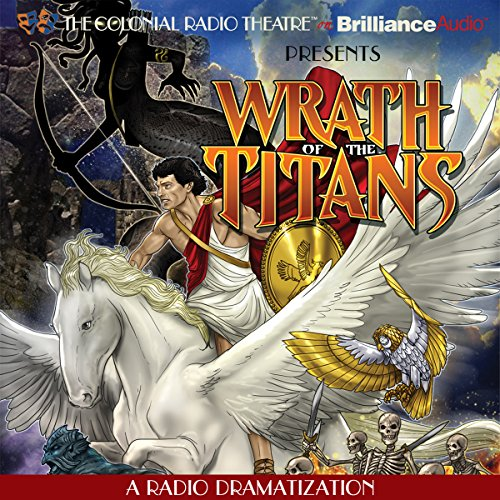 Wrath of the Titans audiobook cover art