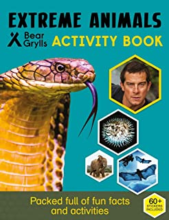 Bear Grylls Sticker Activity: Extreme Animals
