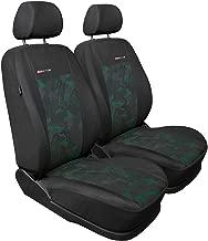 Mossa Premium Tapis de Sol 5902538857567 Set de 2 Tapis de Pieds Noir Velours Tapis Automobiles