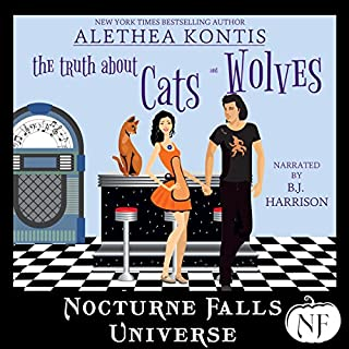 The Truth About Cats and Wolves audiobook cover art