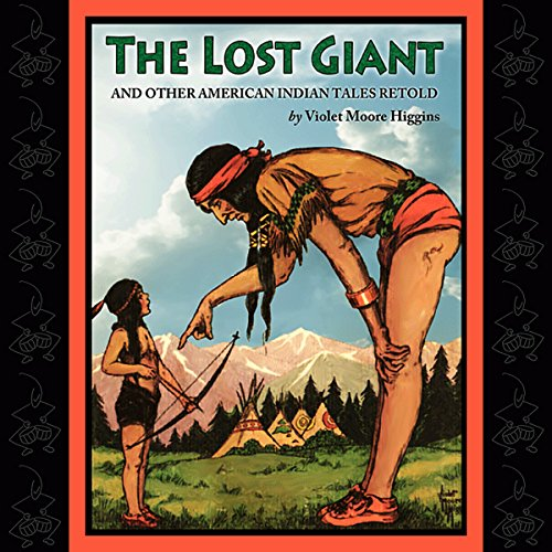 The Lost Giant and Other American Indian Tales Retold audiobook cover art