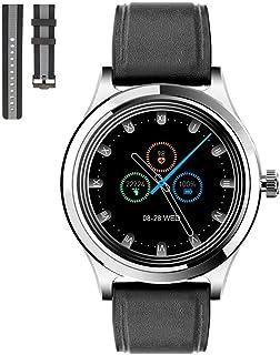 [KACIG]スマートウォッチ レディース 2021最新版腕時計 1.28インチ大画面 IP68防水防塵 Bluetooth5.0技術 GPS軌跡 24つ運動モード 200mAh大容量バッテリー 連続7日間使用可能 活動量計 万歩計 腕時計 ス...