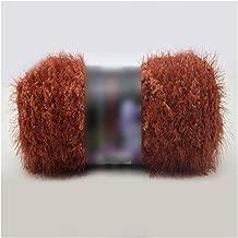 Craft Doble Knitting Leche Terciopelo de Ganchillo Coral visón Cashmere Hilados de Pelo Largo Pluma de Down Lana Bola del Hilado, de 41 años