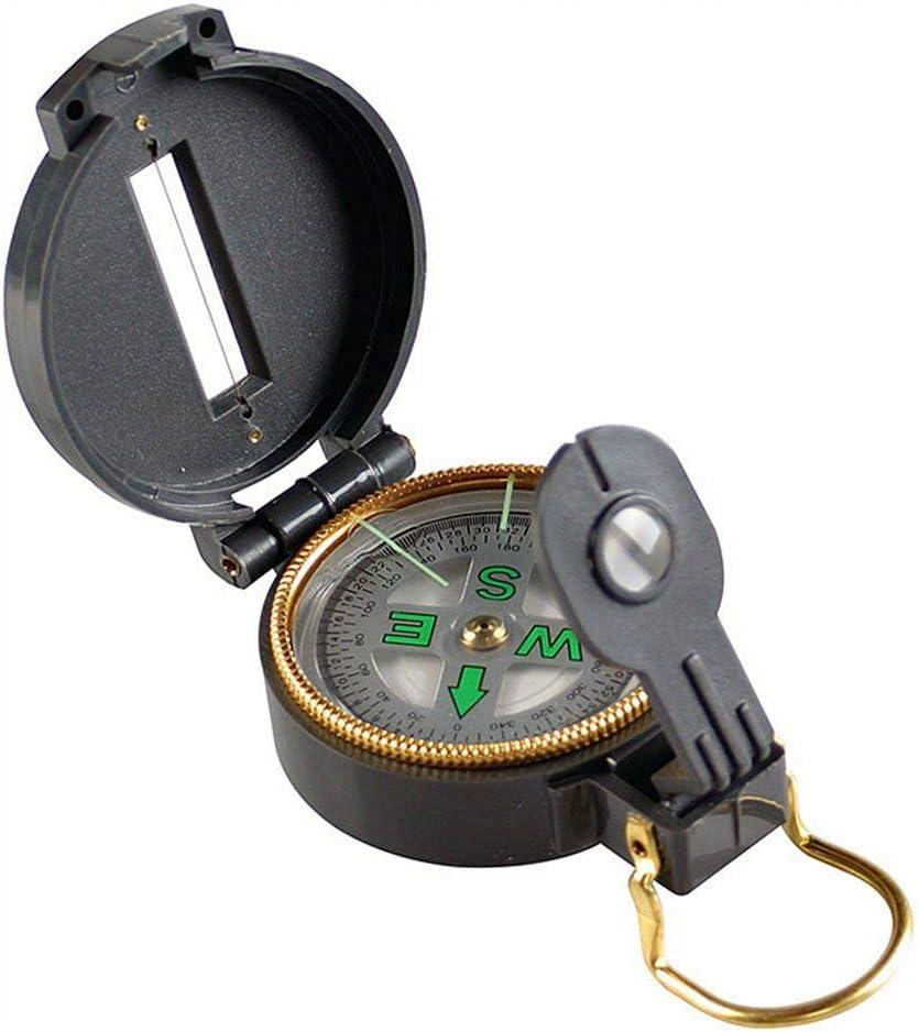Coleman Company Lensatic Max 75% OFF Compass Black Direct sale of manufacturer