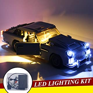 LED Lighting Kit Compatible with Lego Aston Martin 10262, DIY Building Lights Accessories Perfect As Bithday Gift for Boys...