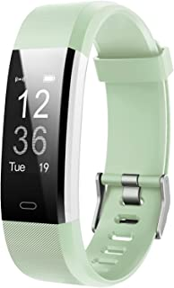 LETSCOM Fitness Tracker HR, Activity Tracker Watch with Heart Rate Monitor, Waterproof Smart Fitness Band with Step Counte...