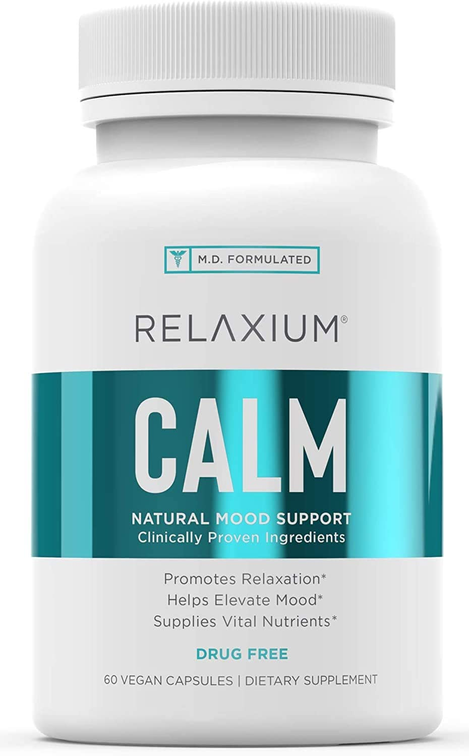 Relaxium Year-end gift Calm Non-Habit Forming All Stress trend rank Natural Relief Su