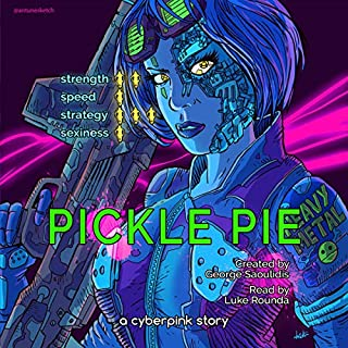 Pickle Pie audiobook cover art