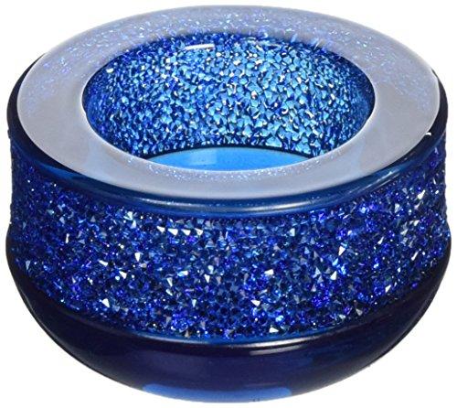 Swarovski Shimmer Teelicht, dunkelblau