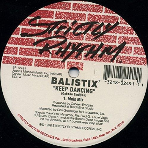 Balistix - Keep Dancing - Strictly Rhythm - SR 12491
