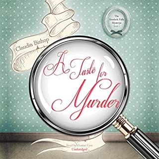 A Taste for Murder                   By:                                                                                                                                 Claudia Bishop                               Narrated by:                                                                                                                                 Justine Eyre                      Length: 8 hrs and 26 mins     28 ratings     Overall 3.4