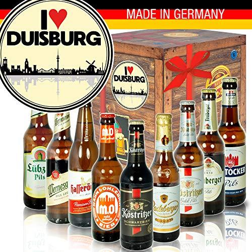 I love Duisburg - Ost-Deutsche Biere - Geburtstag Geschenke Düsseldorf