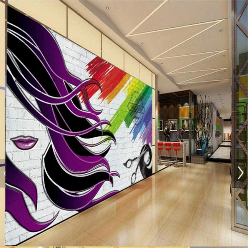 Max 60% OFF Clhhsy Photo New York Mall Wallpaper Barber Shop Stereo 3D Brick Wal