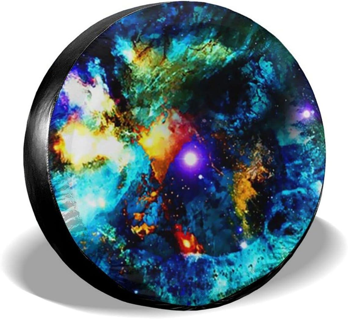 Unitryce Max 67% OFF Galaxy 3D Max 74% OFF Universe Space Waterpr Tire Cover Stars Spare