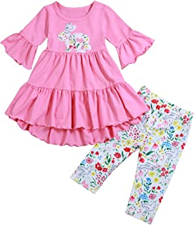 2PCS Baby Girl Clothes Toddler Sets Kids Baby Girls Outfits Infant Clothes
