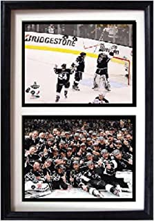 Encore Select 123-03 NHL Los Angeles Kings Double Frame 2012 Stanley Cup Champions Print, 12-Inch by 18-Inch