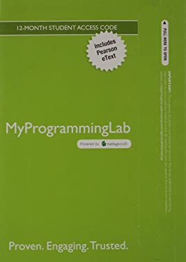MyLab Programming with Pearson eText -- Access Card -- for Intro to Java Programming, Comprehensive Version, 10/e
