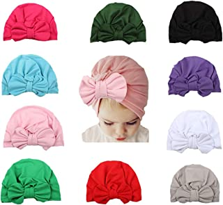 WZT Elastic Stretch Head Wrap Infant Turban Toddler Baby Girl Knot Headbands