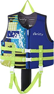 Kids Swim Vest Life Jacket Swimming Aid for Toddlers with Arm Bands Floatation Sleeves Age 1-9 Years/22-50Lbs