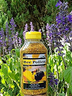 Fresh Bee Pollen Pure Raw Natural Nebraska Bee Pollen 8oz Jar