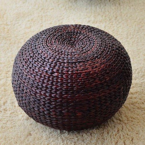 Huishoudelijke rotan-melk, ronde woonkamer-slaap-sofa-primair verf, h 30 cm * b 40 cm deep brown