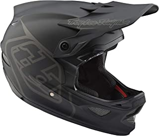 Troy Lee Designs D3 Fiberlite - Casco de Bicicleta - Negro 2019