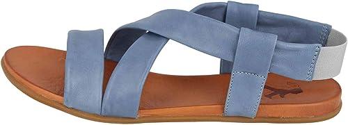 MUSTANG - Sandalias de Vestir de Sintético para damen Blau Blau Claro