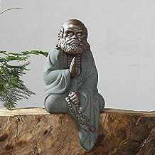 Statue Ornaments Statues Sculptures Ceramic Zen Sand Crafts Home Decoration Office Ornaments Buddha Statue Pottery Sculptu...