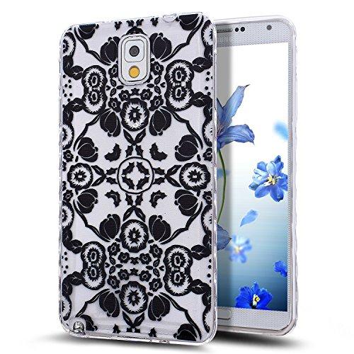 Galaxy Note 3 Case,NSSTAR Scratch-Proof Ultra Thin Crystal Clear Rubber Gel...