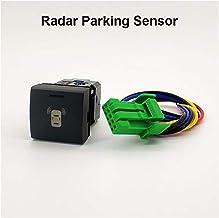 $27 » Decorel LED Spot Light Radar Parking Sensor Camera Recorder Monitor Fan P-Radar Switch Button Wire Fit for Toyota Prado 20...