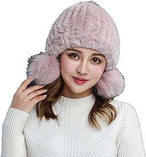 Screenes Beanie Damen Herbst Warme Winter Strickm/ütze Elegante Einfach Gem/ütlich Freizeit Einfacher Stil M/ädchen Haube M/ütze Headwear