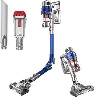 Cordless Vacuum Cleaner, Honiture 26Kpa 380W Powerful Stick Vacuum, Rechargeable Battery, 25 Mins Runtime Handheld Vacuum,...