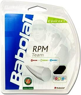 Babolat RPM Team Tennis String (16G Black)