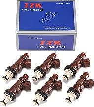 JZK Fuel Injectors 6pcs/Set AISIN 23250-62040 23209-62040 for Tundra Tacoma 3.4L Set of 6 Genuine OEM Toyota 4Runner Fuel Injector