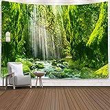 KHKJ Kreative Design Tapisserie Hippie psychedelische Tapisserie Wandbehang Mandala Zimmer Tagesdecke Haus Dekoration Tapisserie A5 200x180cm