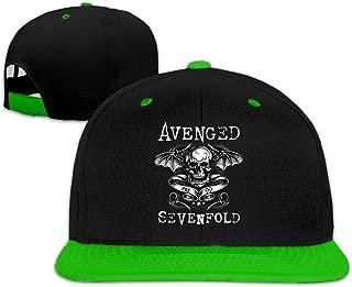 Avenged Sevenfold Unisex Hip Hop Adjustable Hat Stylish Snapback Baseball Cap for Men Women Red