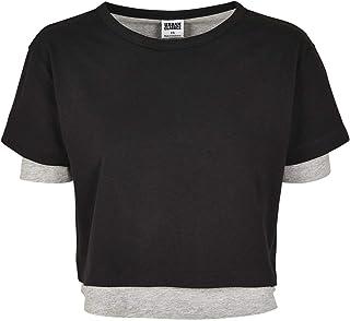 Urban Classics Damer Damer Damer Full Double Layered T-shirt