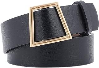 COMVIP Womens Retro PU Elastic Stretchy Button Bucklet Corset Cinch Belt