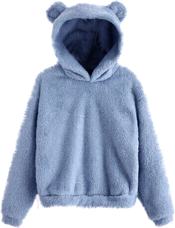 Sweatshirt for Milwaukee Mall Women Oversized Hoodie wi Max 78% OFF Tops Fleece Sleeve Long
