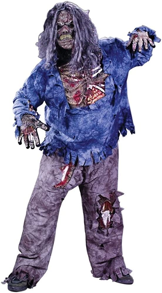 At the price of Gifts surprise Fun World - Complete Costume Adult Zombie Plus