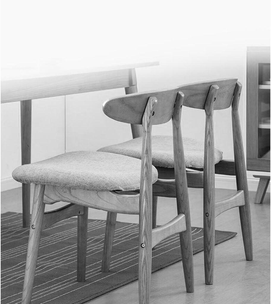 Chaises Chaise en bois solide préside la chaise créative de dossier de chaise de barre chaise moderne de café (Couleur : O) K