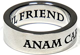 Joyful Sentiments Love Jewelry Stainless Steel ANAM Cara Ring