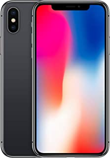 Apple MQA52LL/A iPhone X with FaceTime - 64GB, 4G LTE - Space Grey