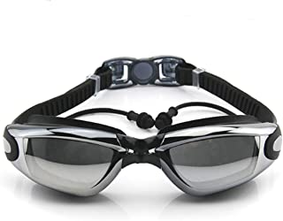 720b10761249 Corrective Nearsighted Swimming Goggles(Prescription 2.0-8.0 Diopters) with  Ear Plug Connect to