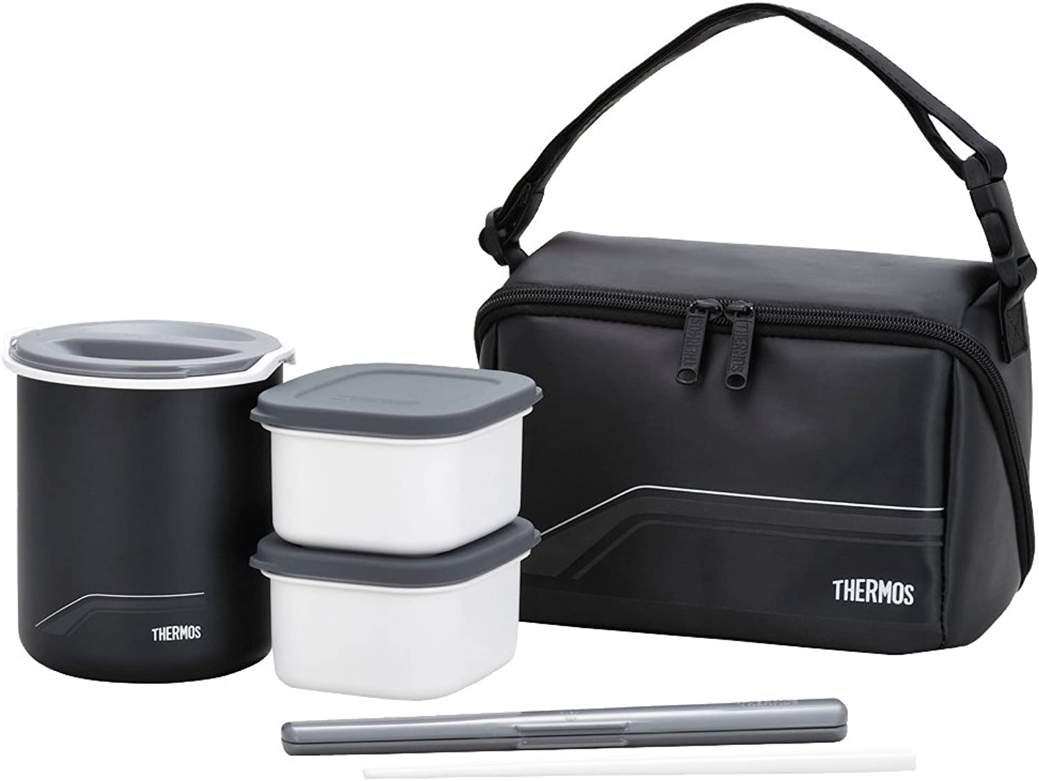 Thermos Thermal Insulated Lunch Box DBQ-501 Keep Warm Bento (japan import)