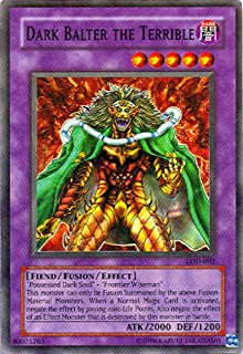 Yu-Gi-Oh! - Dark Balter The Terrible (LOD-002) - Legacy of Darkness - 1st Edition - Super Rare