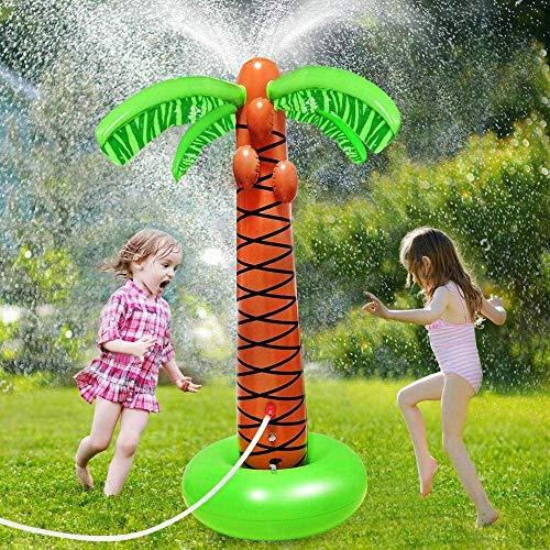 Inflable Agua Pulverizada De Rociadores Cocotero Pelota De Juguete De Verano Al Aire Libre para La Natación Beach Party Piscina De Juegos De Los Niños En Spray De Agua De Juguete Al Aire Libre
